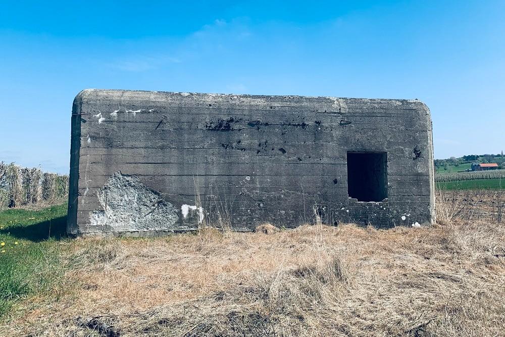 Verdedigingsbunker NV16 van de PFL1