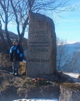 Memorial French Soldiers Battle of Narvik