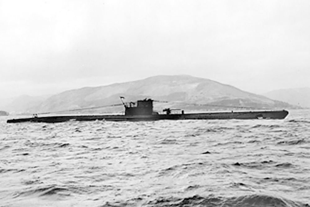 Scheepswrak U-392