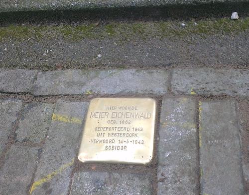 Stolperstein Notenboomstraat 14