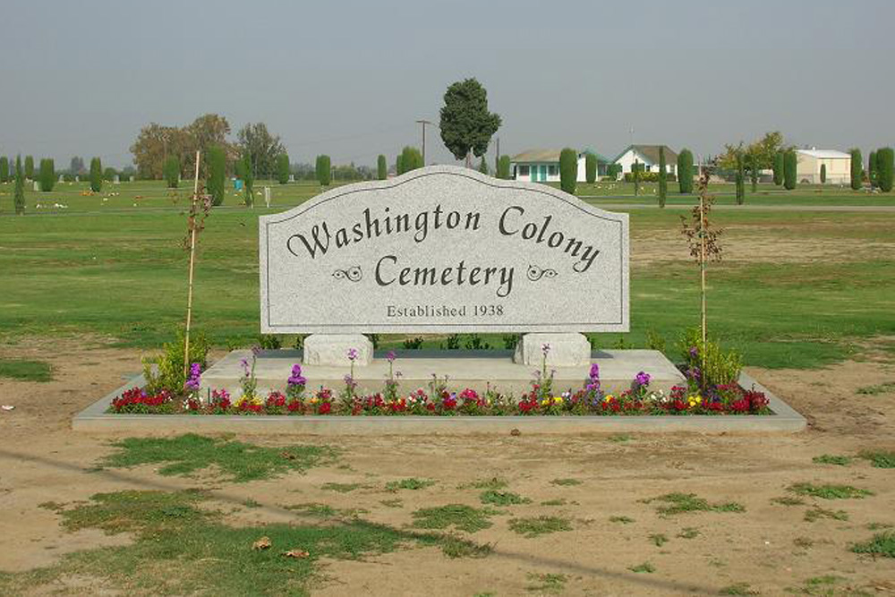 American War Graves Washington Colony Cemetery