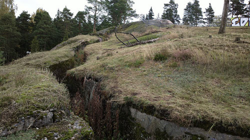 Krepost Sveaborg - Fortified Trenches Base IX