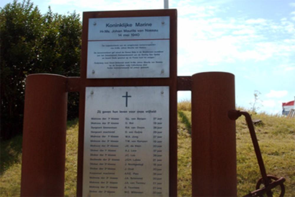 Monument gesneuvelden Hr.Ms. Johan Maurits van Nassau