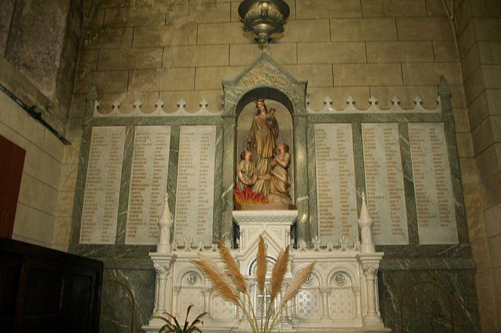 Plaques Église de Saint-Jean-Baptiste