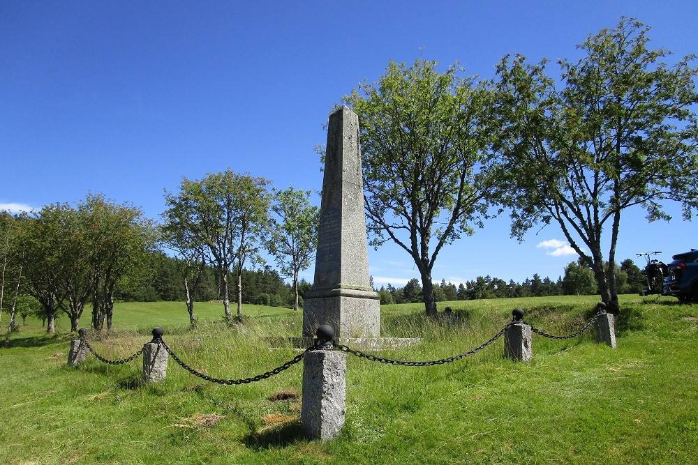 War memorial near the Col du Linge