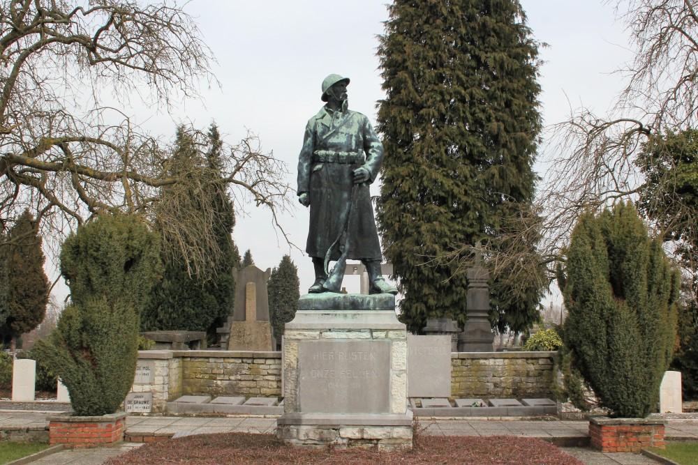 Oorlogsmonument Begraafplaats Dendermonde