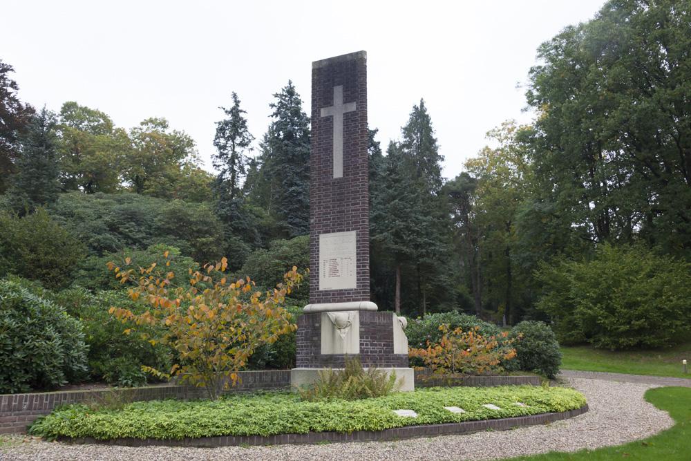 Monument voor Nederlandse Militairen Algemene Begraafplaats Heiderust Rheden