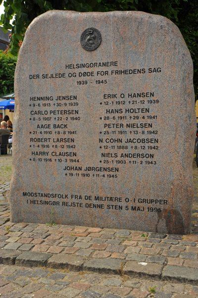 Monument Omgekomen Inwoners Helsingør