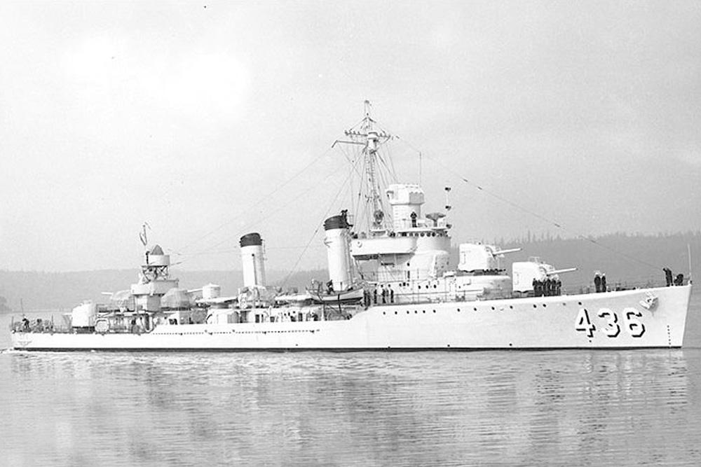 Scheepswrak USS Monssen (DD-436)