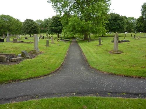Oorlogsgraven van het Gemenebest Gateshead East Cemetery