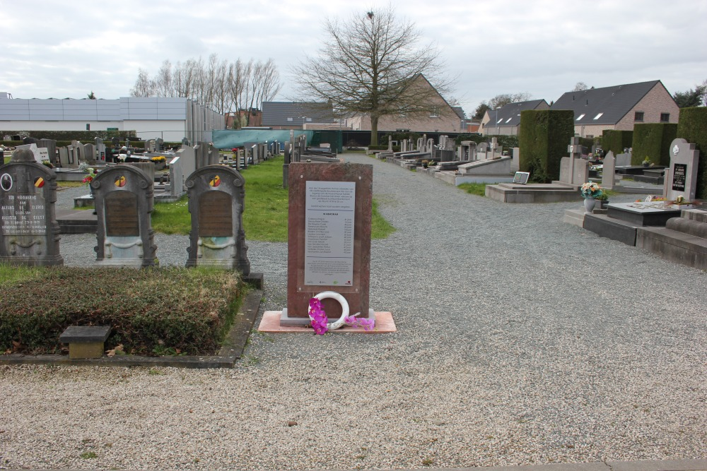 Monument Omgekomen Gedeporteerden Hamme