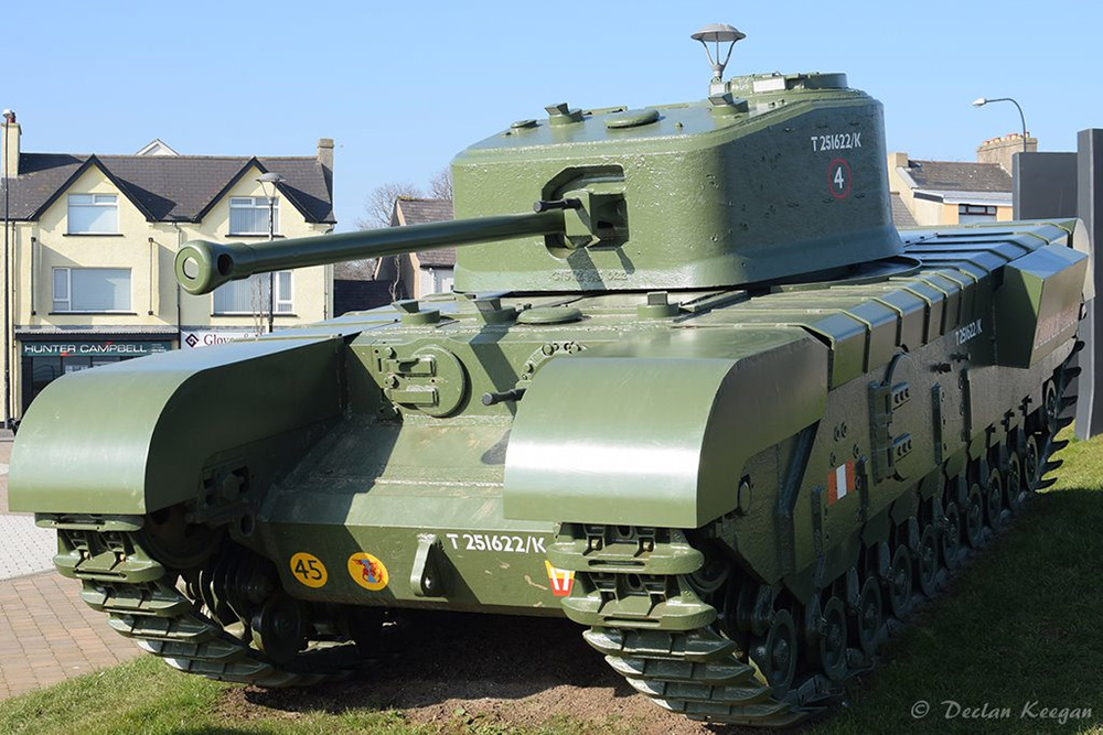 Churchill Mk VII Tank Carrickfergus Marine Gardens
