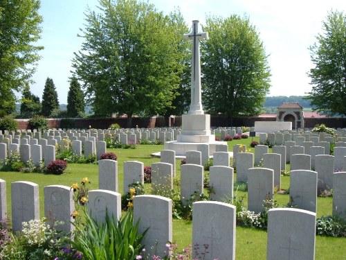 Oorlogsgraven van het Gemenebest Liévin Extension