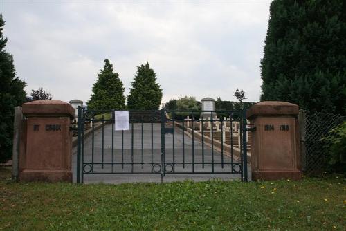 French War Cemetery Sainte-Croix-aux-Mines