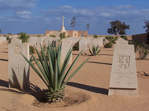 Czechoslovakian War Graves Tobruk