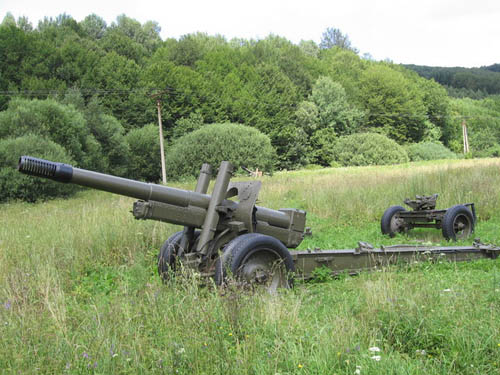 ML-20 152mm Howitzers Nižná Pisaná