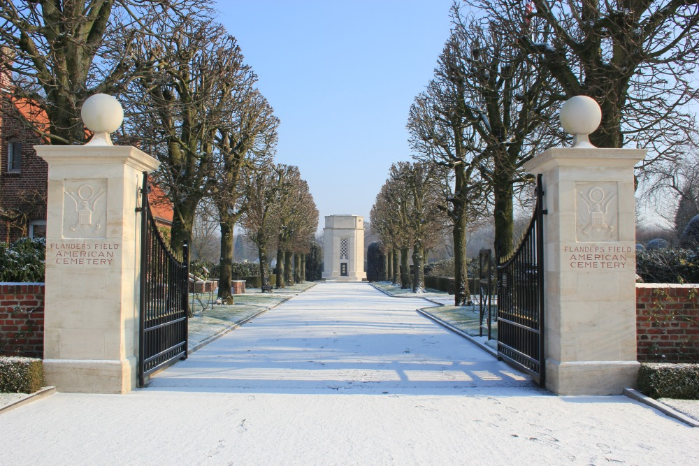 In Flanders Field American War Cemetery
