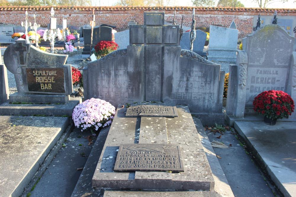 Veteran War Graves Molenbaix