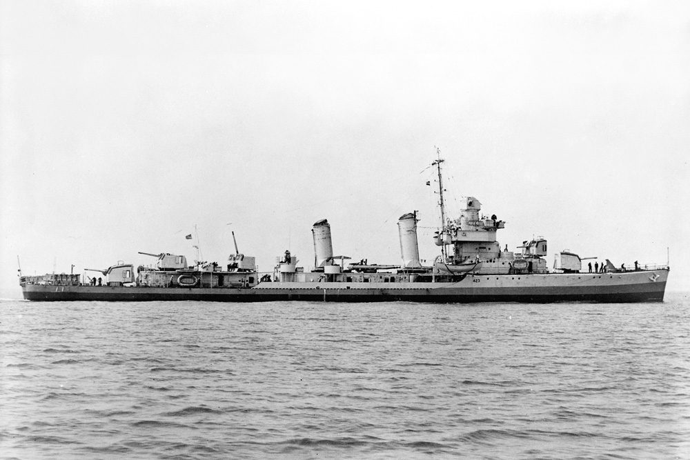 Scheepswrak U.S.S. Beatty
