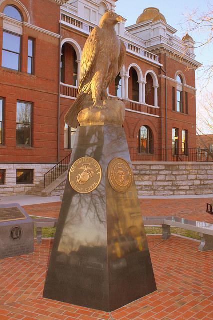 Monument Strijdkrachten Sevier County