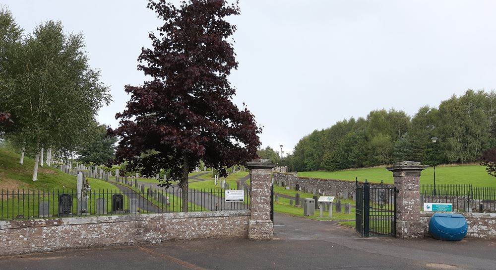 Commonwealth War Graves Dunblane Cemetery