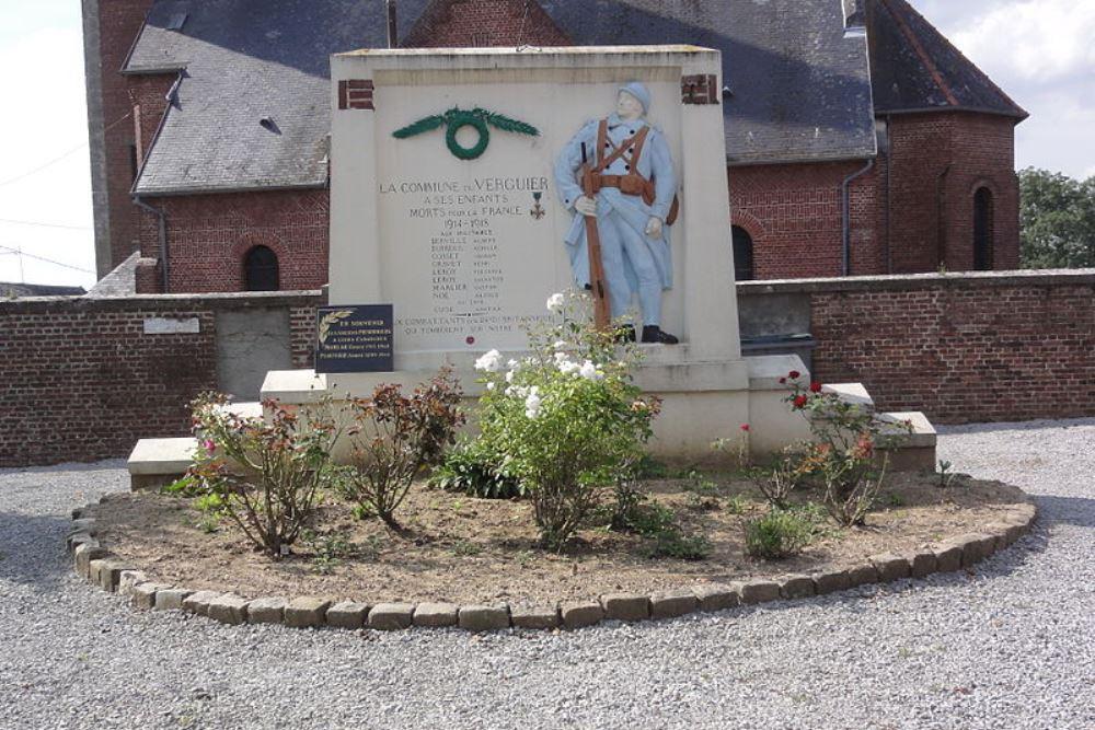 World War I Memorial Le Verguier