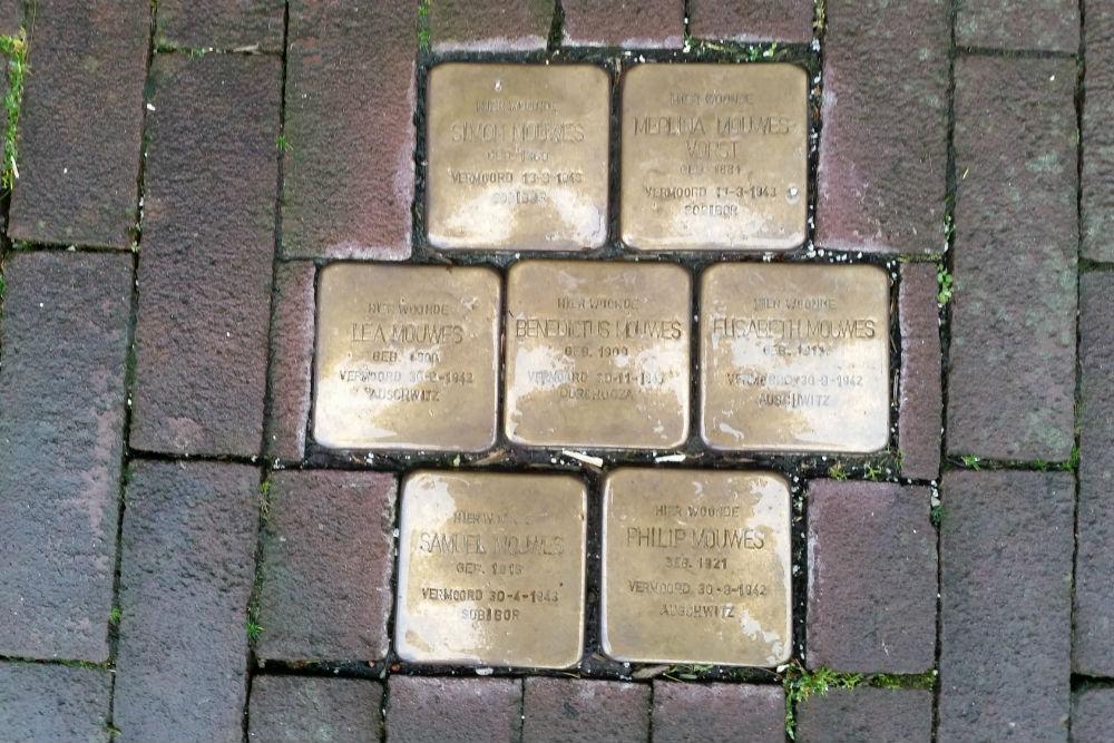 Stolpersteine Zwanenburgwal 272