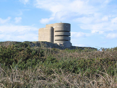 German Fire-control Tower Marine Peilstand