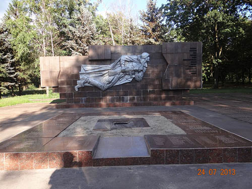 Mass Grave Soviet Soldiers & Resistance Members