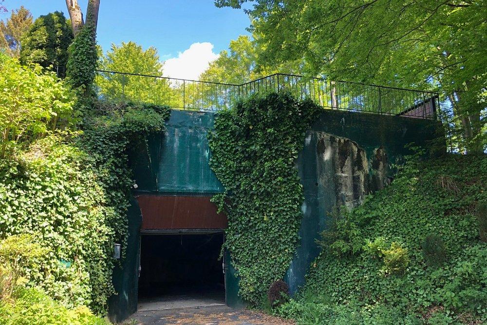 Westwall bunker, Gräfgesweg, Monschau