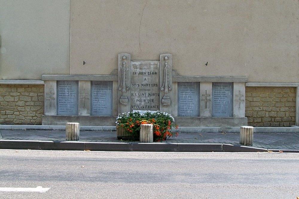 Monument Executie 12 Juni 1944