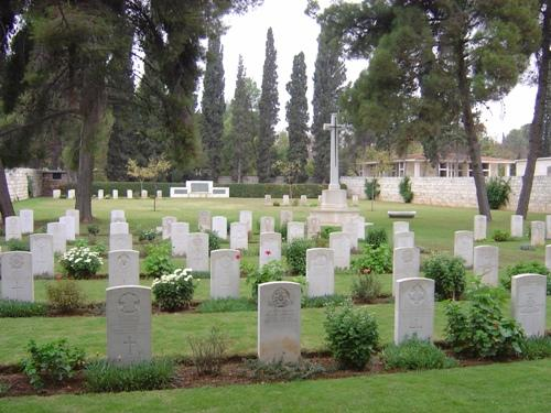 Commonwealth War Cemetery Aleppo