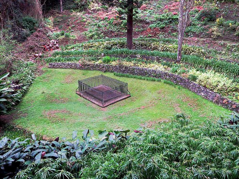 Temporary Grave of Napoleon Bonaparte