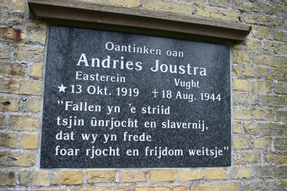 Monument Andries Joustra