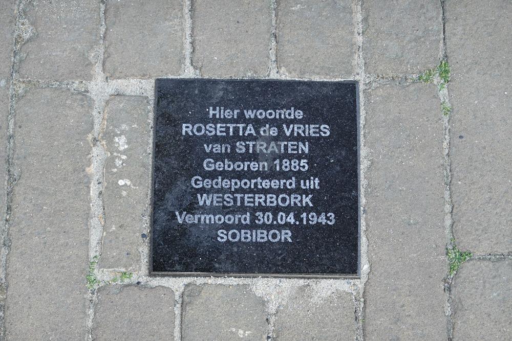 Remembrance Stone Kruisstraat 11