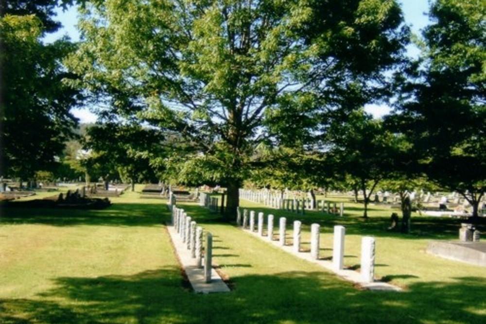 Commonwealth War Graves Rotorua Public Cemetery