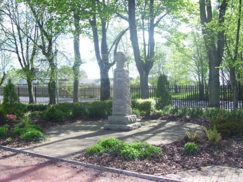 War Memorial Wishaw