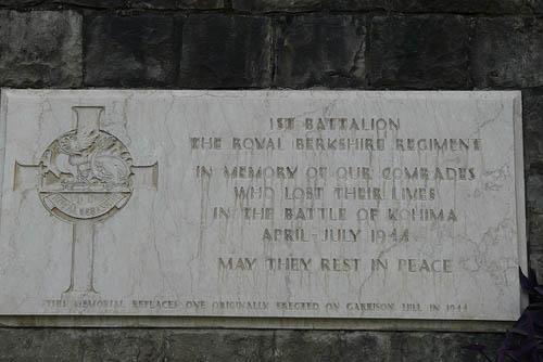 Monument 1st Battalion The Royal Berkshire Regiment Kohima