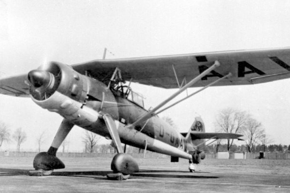 Crashlocatie Henschel Hs 126B Nr. 3331