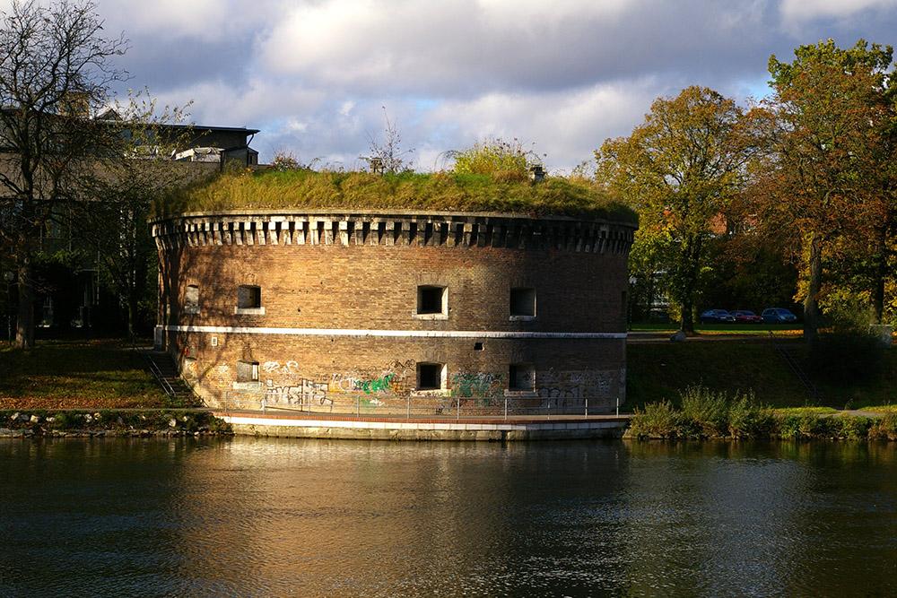 Bundesfestung Ulm - Unterer Donauturm (Werk XXV)