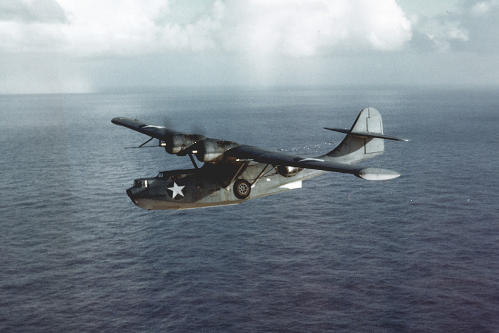 Crash Site PBY-5 Catalina 08246