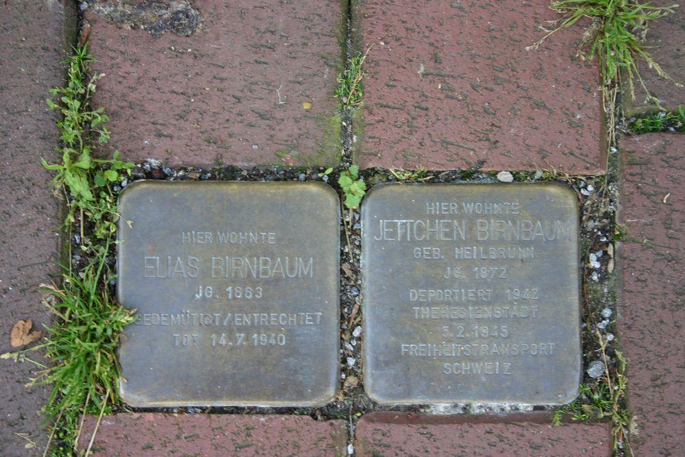 Stumbling Stones Großehofstrasse 17