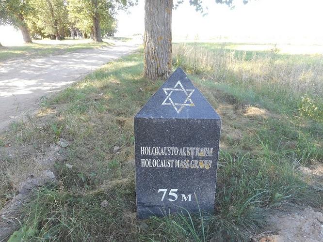 Holocaust Begraafplaats Virbalis