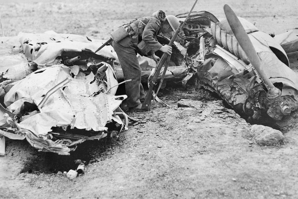 Crash Site Messerschmitt Bf 110D