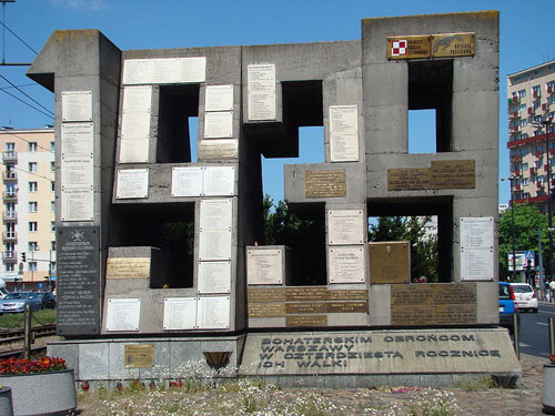 Barricade Memorial Warsaw