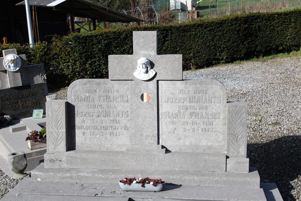 Graf Burgerslachtoffer Aalst (Sint-Truiden)