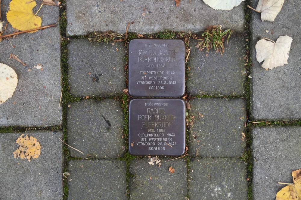 Stumbling Stones Van Ostadelaan 61