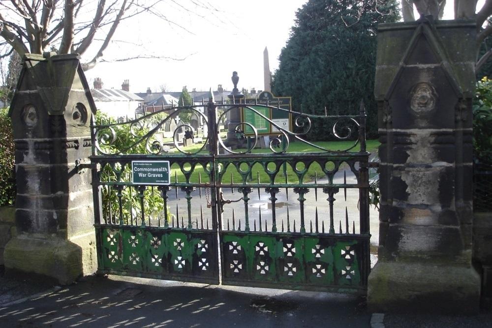 Oorlogsgraven van het Gemenebest Grove Road Cemetery