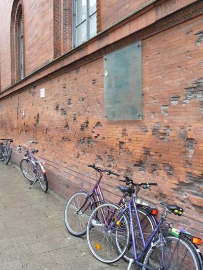 Air Raid Damage University Building