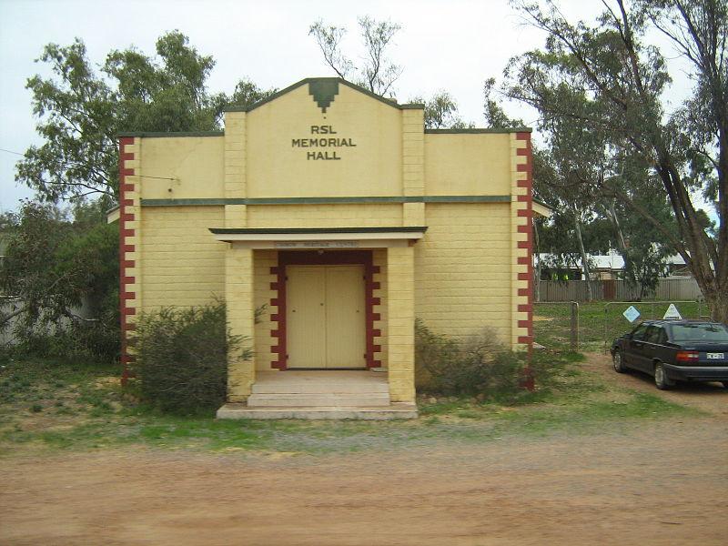 War Memorial Hall Coorow